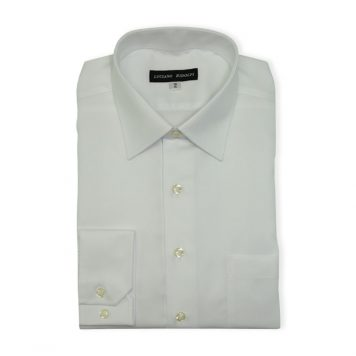 Ridolfi White Striped Dress Shirt For Men