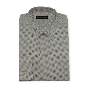 Ridolfi Brown Geometric Casual Shirt For Men