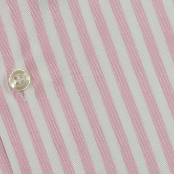Ridolfi Pink Striped Engineered Shirt For Men