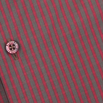 Ridolfi Red Checked Engineered Shirt For Men