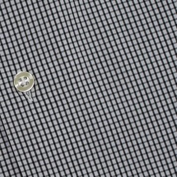 Ridolfi Black Checked Dress Shirt For Men