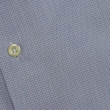Ridolfi Blue Checked Dress Shirt For Men