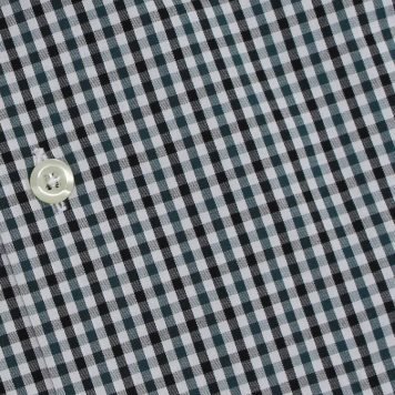 Ridolfi Green Checked Dress Shirt For Men