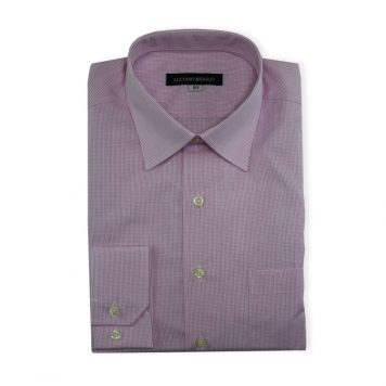 Ridolfi Pink Checked Dress Shirt For Men