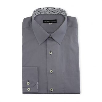 Ridolfi Plain Grey Casual Shirt For Men