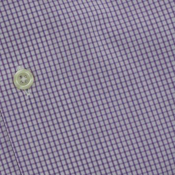 Ridolfi Purple Checked Dress Shirt For Men
