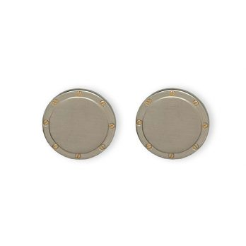 Weber Jewelry Silver Cuff Links